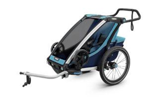 Cyklovozík Thule Chariot Cross 1 modrý 1