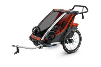 Cyklovozík Thule Chariot Cross 1 oranžový 1