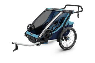 Cyklovozík Thule Chariot Cross 2 modrý 1