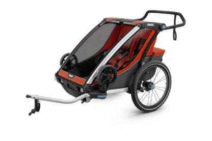 Cyklovozík Thule Chariot Cross 2 oranžový 1