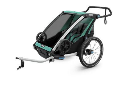 Cyklovozík Thule Chariot Lite 2 zelený 1