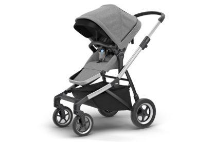 Detský kočík Thule Sleek Aluminum : Grey Melange 1