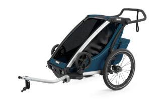 Cyklovozík Thule Chariot Cross 1 Majolica Blue 1